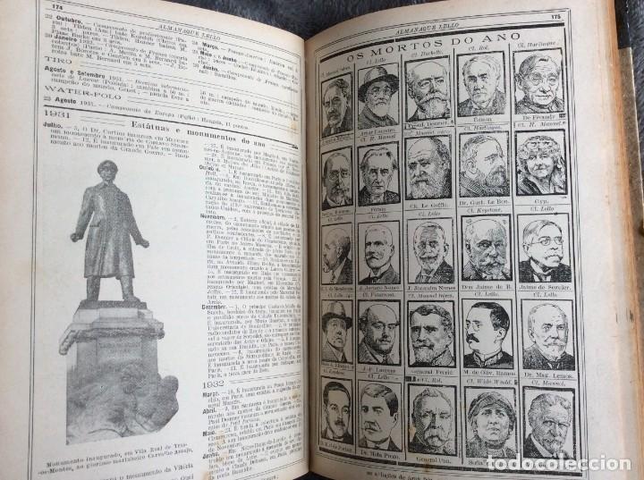 Libros antiguos: Almanaque Lello, 1933. ( historia, viajes, ciencia, pasatiempos, curiosidades, etc. ). Envio grátis - Foto 11 - 194890866