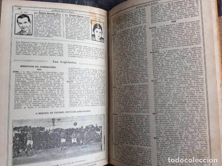 Libros antiguos: Almanaque Lello, 1933. ( historia, viajes, ciencia, pasatiempos, curiosidades, etc. ). Envio grátis - Foto 12 - 194890866