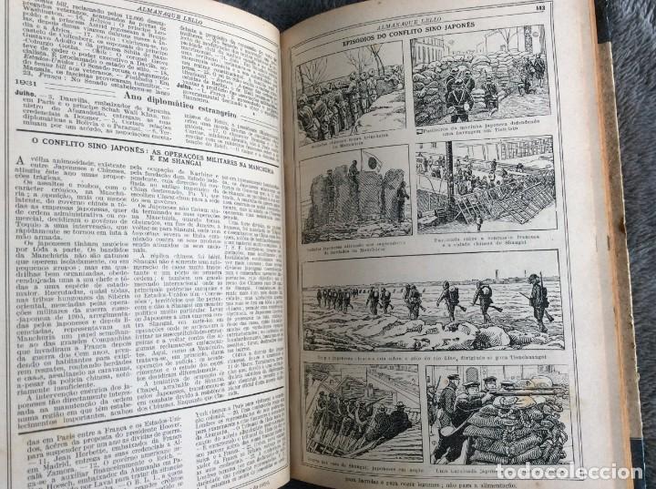 Libros antiguos: Almanaque Lello, 1933. ( historia, viajes, ciencia, pasatiempos, curiosidades, etc. ). Envio grátis - Foto 13 - 194890866