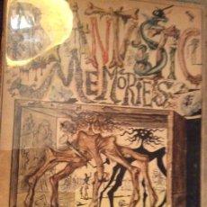Libros antiguos: 1944 FANTÁSTIC MEMORIES ILLUSTRATIONS BY SALVADOR DALI. Lote 194891613