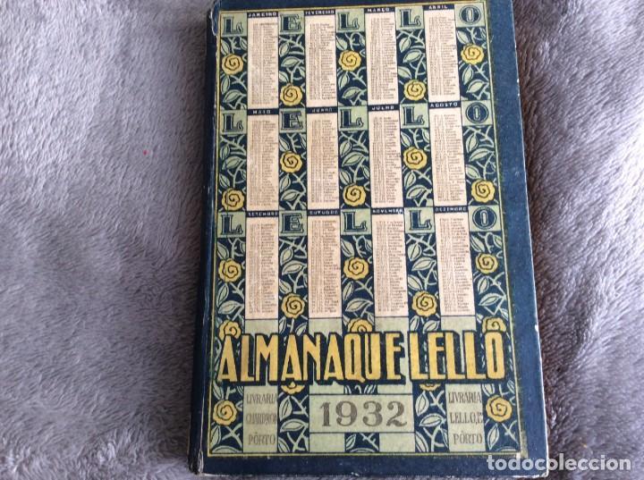Libros antiguos: Almanaque Lello, 1932. ( historia, viajes, ciencia, pasatiempos, curiosidades, etc. ). - Foto 2 - 194892801