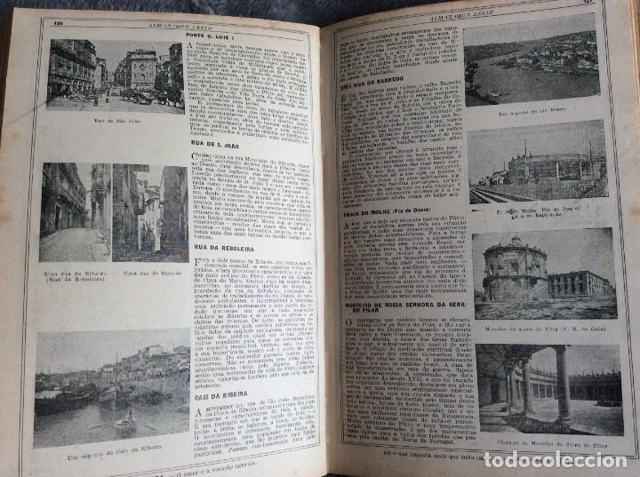 Libros antiguos: Almanaque Lello, 1932. ( historia, viajes, ciencia, pasatiempos, curiosidades, etc. ). - Foto 3 - 194892801