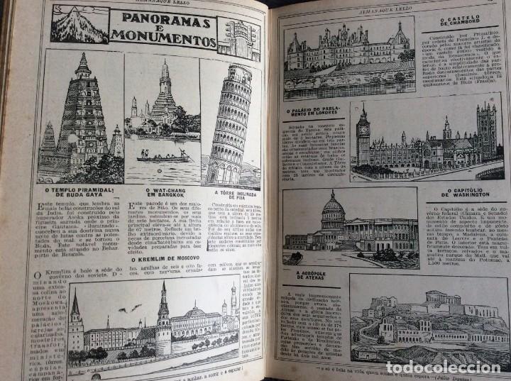 Libros antiguos: Almanaque Lello, 1932. ( historia, viajes, ciencia, pasatiempos, curiosidades, etc. ). - Foto 6 - 194892801