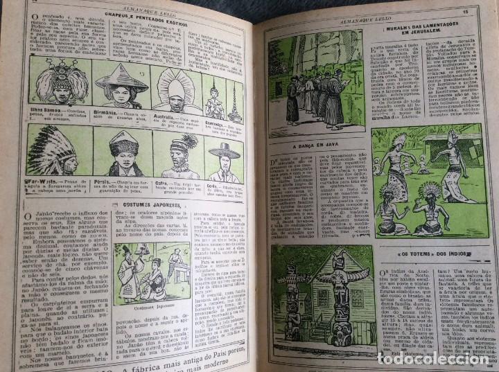Libros antiguos: Almanaque Lello, 1932. ( historia, viajes, ciencia, pasatiempos, curiosidades, etc. ). - Foto 7 - 194892801