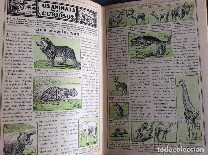 Libros antiguos: Almanaque Lello, 1932. ( historia, viajes, ciencia, pasatiempos, curiosidades, etc. ). - Foto 10 - 194892801