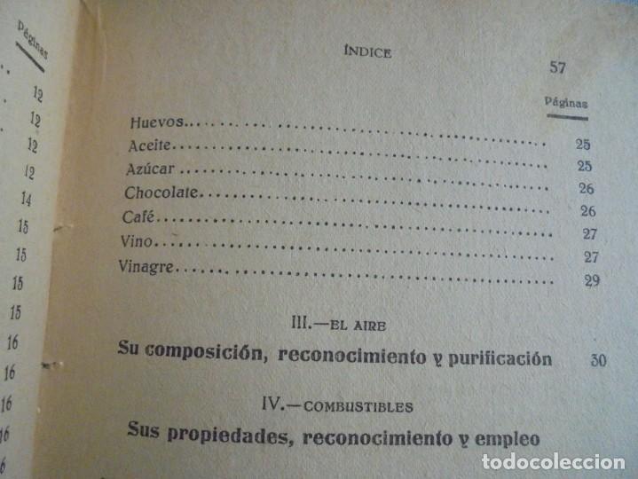 Libros antiguos: LA QUIMICA DEL HOGAR.TODOS LOS SECRETOS DE LA ECONOMIA DOMESTICA.E.SEVILLA RICHART.PEQUEÑA ENCICLOPE - Foto 9 - 194895048