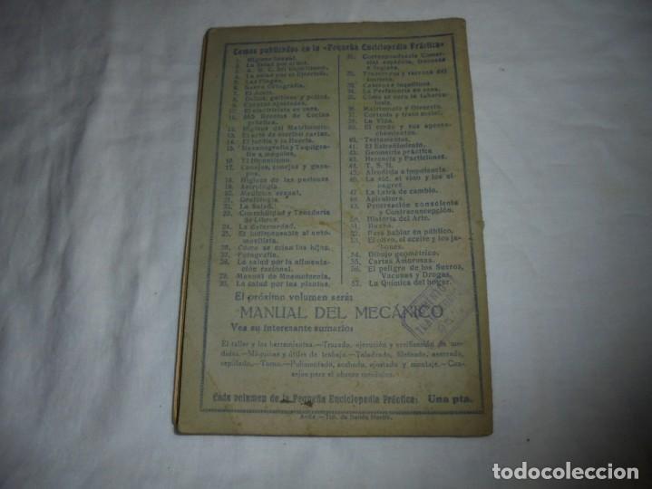 Libros antiguos: LA QUIMICA DEL HOGAR.TODOS LOS SECRETOS DE LA ECONOMIA DOMESTICA.E.SEVILLA RICHART.PEQUEÑA ENCICLOPE - Foto 11 - 194895048