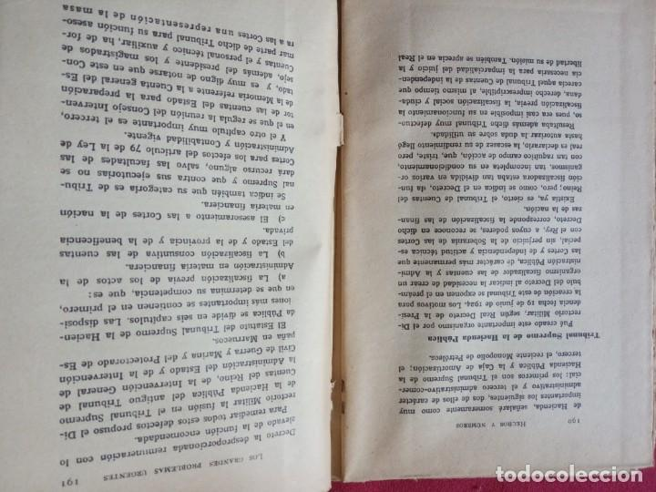 Libros antiguos: LOS VALORES HISTÓRICOS EN LA DICTADURA ESPAÑOLA -JOSÉ PEMARTÍN. - Foto 5 - 194896437