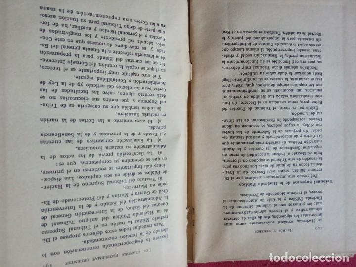 Libros antiguos: LOS VALORES HISTÓRICOS EN LA DICTADURA ESPAÑOLA -JOSÉ PEMARTÍN. - Foto 6 - 194896437