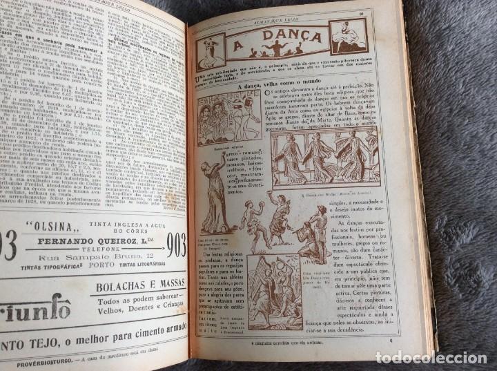 Libros antiguos: Almanaque Lello, 1934. ( historia, viajes, ciencia, pasatiempos, curiosidades, etc. ). Envio grátis - Foto 3 - 194897195