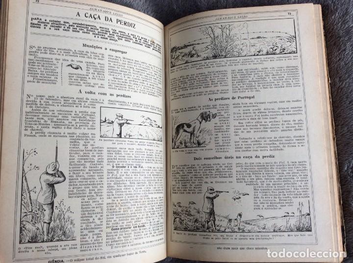 Libros antiguos: Almanaque Lello, 1934. ( historia, viajes, ciencia, pasatiempos, curiosidades, etc. ). Envio grátis - Foto 5 - 194897195