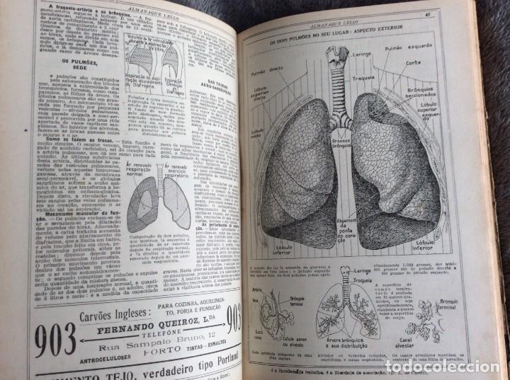 Libros antiguos: Almanaque Lello, 1934. ( historia, viajes, ciencia, pasatiempos, curiosidades, etc. ). Envio grátis - Foto 7 - 194897195