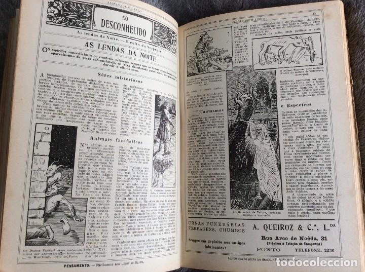 Libros antiguos: Almanaque Lello, 1934. ( historia, viajes, ciencia, pasatiempos, curiosidades, etc. ). Envio grátis - Foto 8 - 194897195
