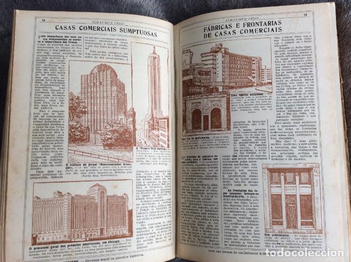 Libros antiguos: Almanaque Lello, 1934. ( historia, viajes, ciencia, pasatiempos, curiosidades, etc. ). Envio grátis - Foto 9 - 194897195