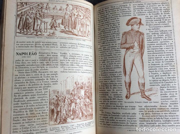 Libros antiguos: Almanaque Lello, 1934. ( historia, viajes, ciencia, pasatiempos, curiosidades, etc. ). Envio grátis - Foto 10 - 194897195