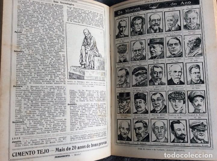 Libros antiguos: Almanaque Lello, 1934. ( historia, viajes, ciencia, pasatiempos, curiosidades, etc. ). Envio grátis - Foto 11 - 194897195
