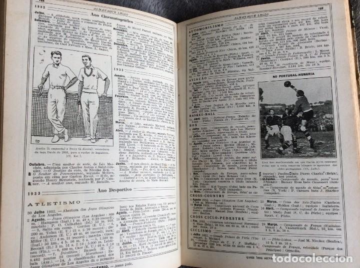 Libros antiguos: Almanaque Lello, 1934. ( historia, viajes, ciencia, pasatiempos, curiosidades, etc. ). Envio grátis - Foto 13 - 194897195