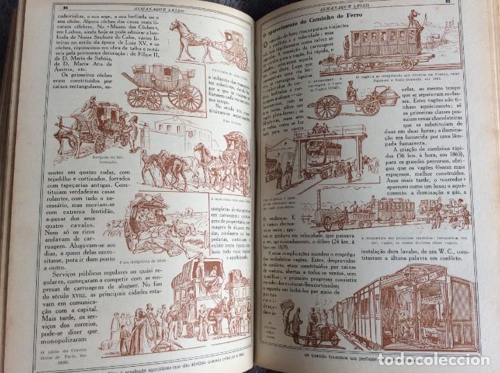 Libros antiguos: Almanaque Lello, 1934. ( historia, viajes, ciencia, pasatiempos, curiosidades, etc. ). Envio grátis - Foto 16 - 194897195