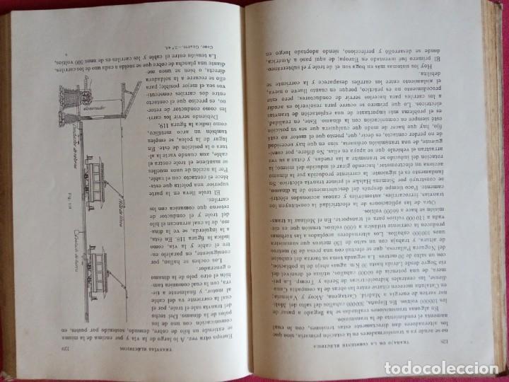 Libros antiguos: La electricidad al alcance de todos - Gustavo Gili 1.926. - Foto 3 - 194897315