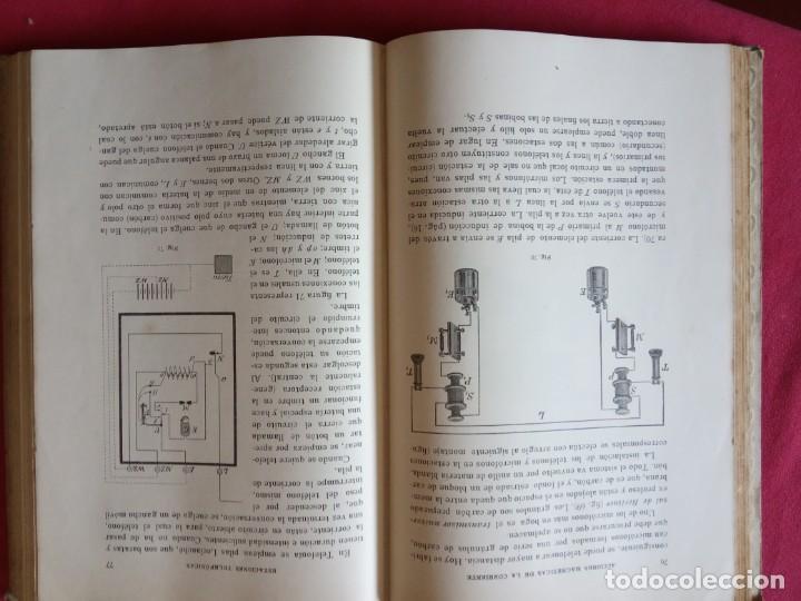 Libros antiguos: La electricidad al alcance de todos - Gustavo Gili 1.926. - Foto 4 - 194897315