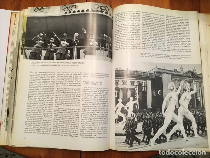 Libros antiguos: la gran enciclopedia del espectaculo, los deportes y olimpiadas de argos año 1967 - Foto 4 - 194900028