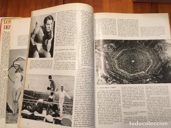 Libros antiguos: la gran enciclopedia del espectaculo, los deportes y olimpiadas de argos año 1967 - Foto 5 - 194900028
