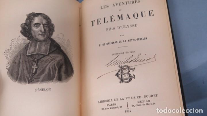 Libros antiguos: 1894.- LAS AVENTURAS DE TELEMAQUE - Foto 2 - 194900858