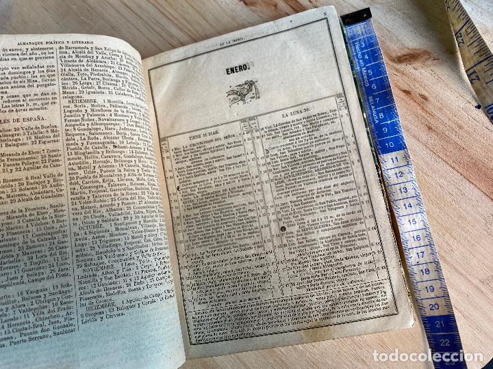 Libros antiguos: Almanaque político y literario de La Iberia para 1861 - Foto 5 - 194905616