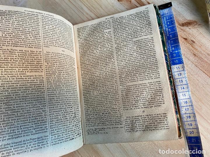 Libros antiguos: Almanaque político y literario de La Iberia para 1861 - Foto 7 - 194905616