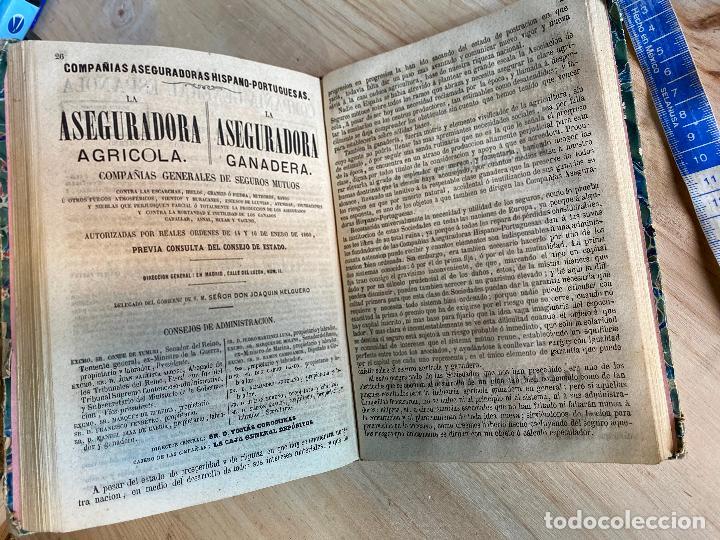 Libros antiguos: Almanaque político y literario de La Iberia para 1861 - Foto 8 - 194905616