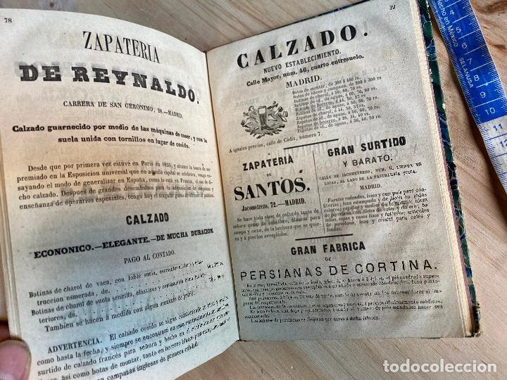 Libros antiguos: Almanaque político y literario de La Iberia para 1861 - Foto 9 - 194905616
