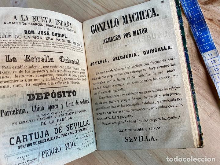 Libros antiguos: Almanaque político y literario de La Iberia para 1861 - Foto 10 - 194905616