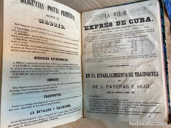 Libros antiguos: Almanaque político y literario de La Iberia para 1861 - Foto 11 - 194905616