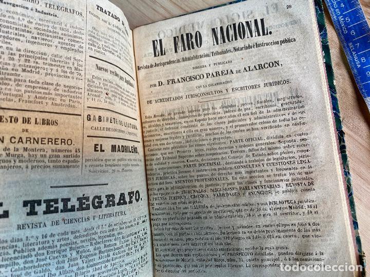 Libros antiguos: Almanaque político y literario de La Iberia para 1861 - Foto 12 - 194905616