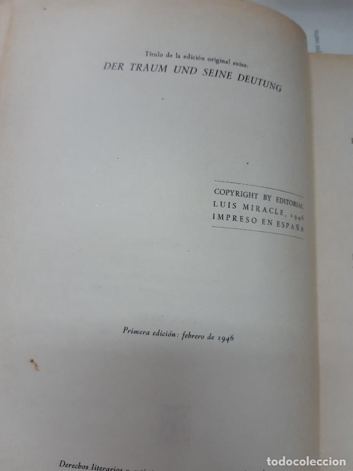 Libros antiguos: EL LENGUAJE DE LOS SUEÑOS DR ERNEST AEPPLI 1º EDICION 1946 - Foto 2 - 194905653