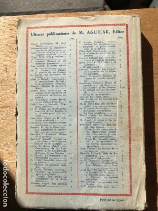 Libros antiguos: JOSÉ VASCONCELOS. DE ROBINSON A ODISEO. PEDAGOGÍA ESTRUCTURATIVA. - Foto 5 - 194783685