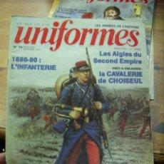 Libros antiguos: REVISTA LES ARMÉES DE L'HISTOIRE UNIFORMES Nº 70, NOVEMBRE DÉCEMBRE 1982. EN FRANCÉS. L.9601-136. Lote 194923886