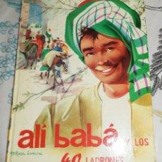 Libros antiguos: ALI BABA Y LOS 40 LADRONES ED MOLINO 1963 COL ILUSIÓN INFANTIL N.º 33 PASTA DURA SIN NUMERAR ALIBABA. Lote 194928530