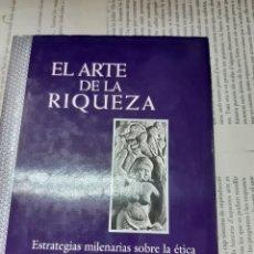 Libros antiguos: EL ARTE DE LA RIQUEZA THOMAS CLEARY . Lote 194939158
