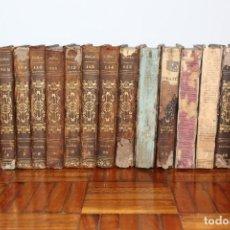 Libros antiguos: BRISSEAU-MIRBEL C.F ( BUFFON) . HISTOIRE NATURELLE, GENERALE ET PARTICULIERE, DES PLANTES. 18 TOMOS. Lote 194943460