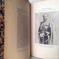 Libros antiguos: ORIGEN Y COBERTURA DE LOS GRANDES DE ESPAÑA. (GUÍA PALACIANA. CUADERNO 31) (1900). Lote 194944697