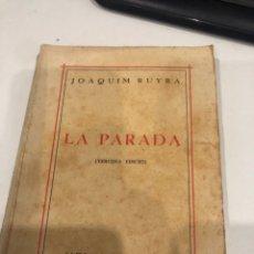 Libros antiguos: LA PARADA. Lote 194968393