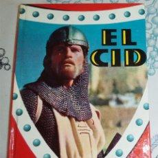 Libros antiguos: EL CID ED. FELICIDAD 1966 COL. CINEFA N.º 4 PASTA DURA 128 PAGINAS ILUSTRADO. Lote 194969571