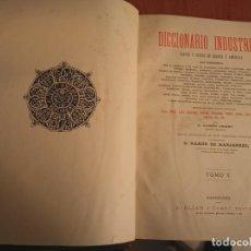 Libros antiguos: ESPECTACULAR Y GRAN TOMO DICCIONARIO INDUSTRIAL ARTES Y OFICIOS DE EUROPA Y AMÉRICA CAMPS ARMET . Lote 194974113