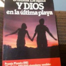Libros antiguos: Y DIOS EN LA ÚLTIMA PLAYA. Lote 194978220