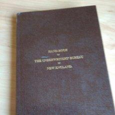 Libros antiguos: MANUAL DE SEGURIDAD CONTRA INCENDIOS NUEVA INGLATERRA -FACSIMIL 1896- UNDERWRITERS BUREAU. Lote 194993276