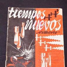 Libros antiguos: TIEMPOS NUEVOS - NUM. 8 1935. Lote 195002132