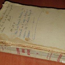 Libros antiguos: LAS REFORMAS URBANAS DE MURCIA, MARTINEZ GARCIA, MURCIA 1930, NECESITA ENCUADERNACION!. Lote 195015383