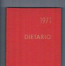 Libros antiguos: DIETARIO 1971 MAHOU CERVEZAS DE CALIDAD SIN RELLENAR. Lote 195040648