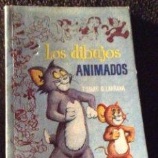 Libros antiguos: MINILIBRO ENCICLOPEDIA PULGA. N- 222. LOS DIBUJOS ANIMADOS. TOMAS G. LARRAYA. Lote 195057187